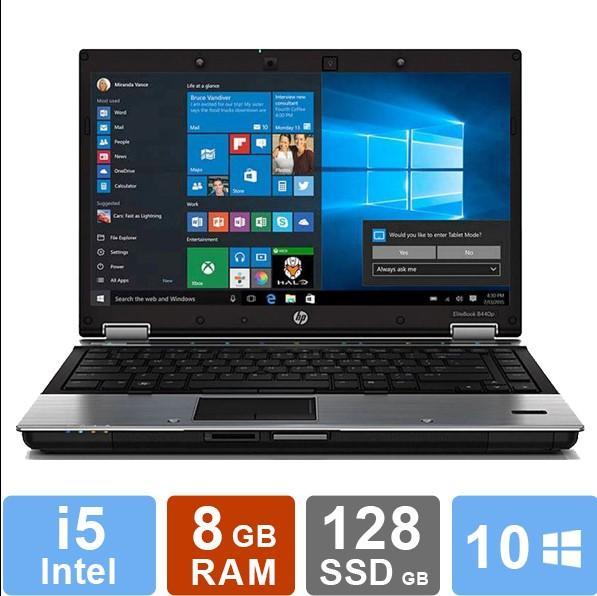 HP EliteBook 8440p - i5 - 8GB RAM - 128GB HDD