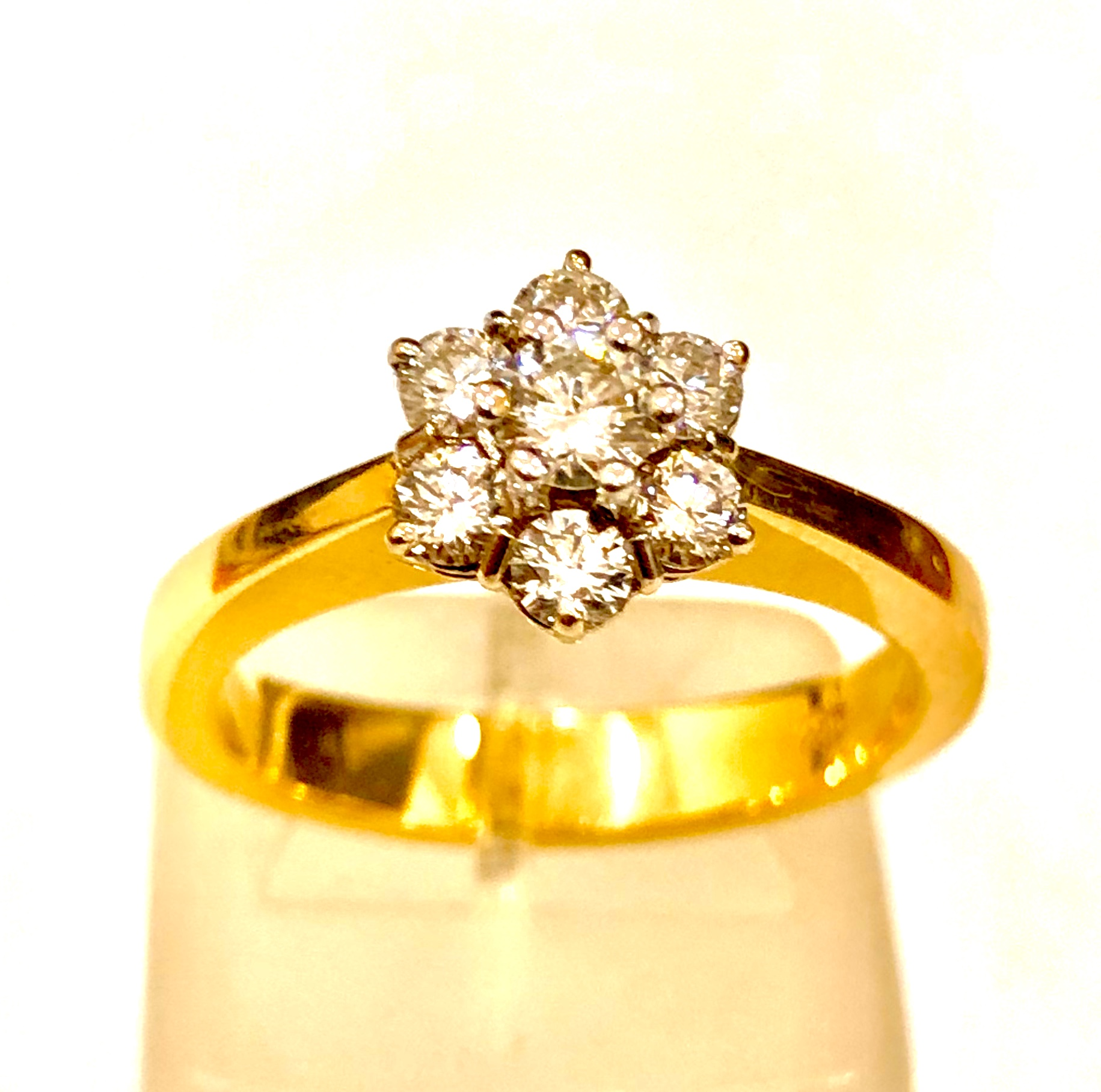 Χρυσό Δαχτυλίδι Κ18  ROZETA