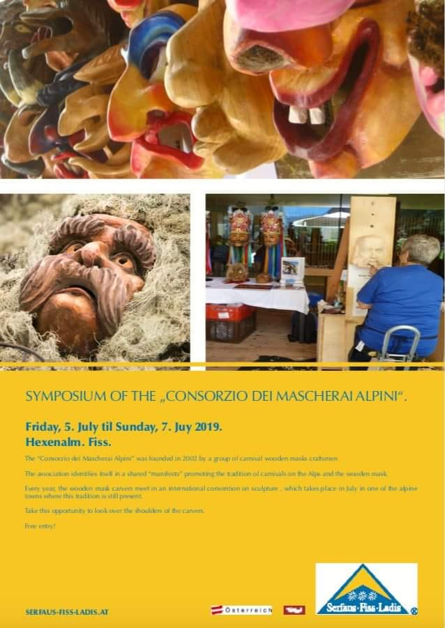 """Appuntamento per i primi di luglio in Austria per l' ormai tradizionale  """" simposio dei Mascherai Alpini """""""