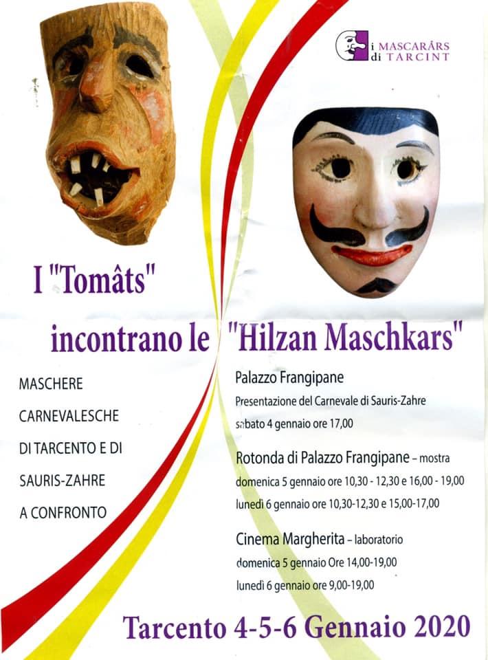 "Le maschere lignee  I Tomats """