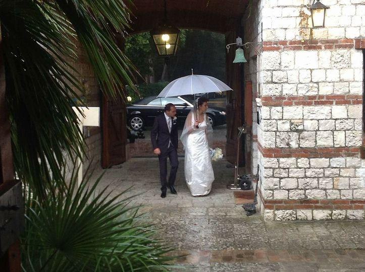Sposa bagnata....sposa fortunata!