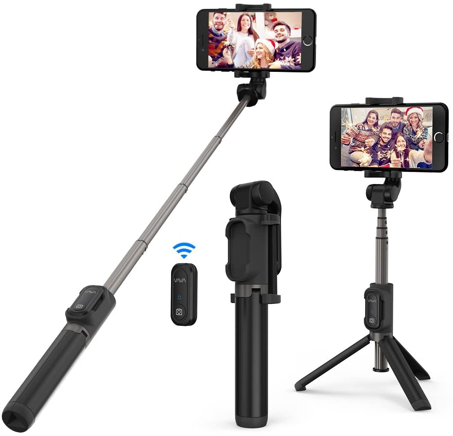 VAVA Selfie Stick Treppiedi 3-in-1