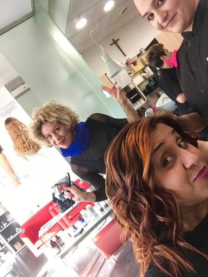 #positivitá #ideexlatestacity #hair #love #professional #screen #legerity #olaplex #copper #haircut