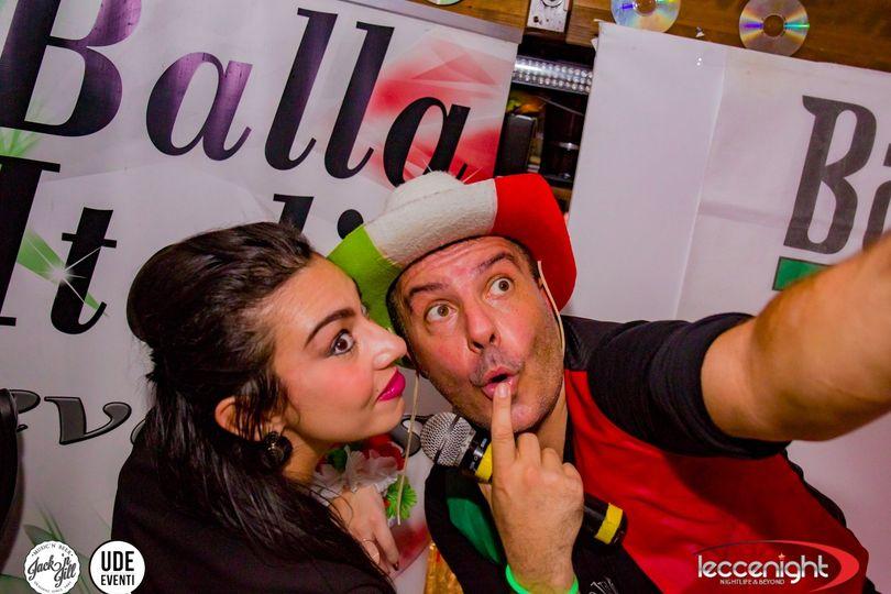 BALLA ITALIA AL JACK - SABATO 24 NOVEMBRE