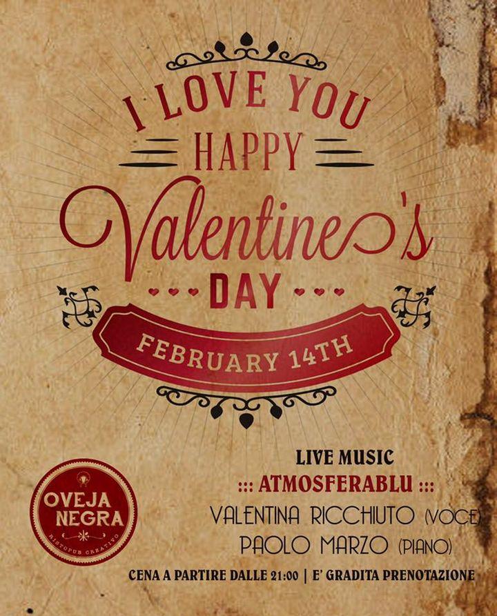 **Il 14 febbraio in love ❤️❤️**  È gradita prenotazione 🌹