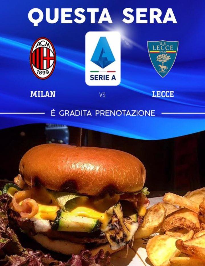 Oggi vi aspettiamo per trascorrere la serata con noi.  Sui nostri schemi il posticipo di #SerieA Milan - Lecce Buona domenica 😘😘