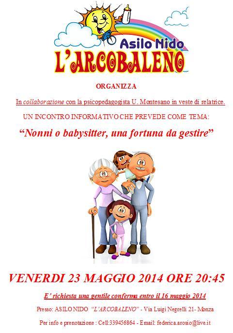 Gentili genitori, cogliamo l'occasione per comunicarvi l'invito per l'incontro di VENERDI' 23 MAGGIO CON LA COLLABORAZIONE DELLA NOSTRA PSICOPEDAGOGISTA! Per chiunque volesse partecipare,non esitate a contattarci!   VI ASPETTIAMO!!! <3 <3 <3