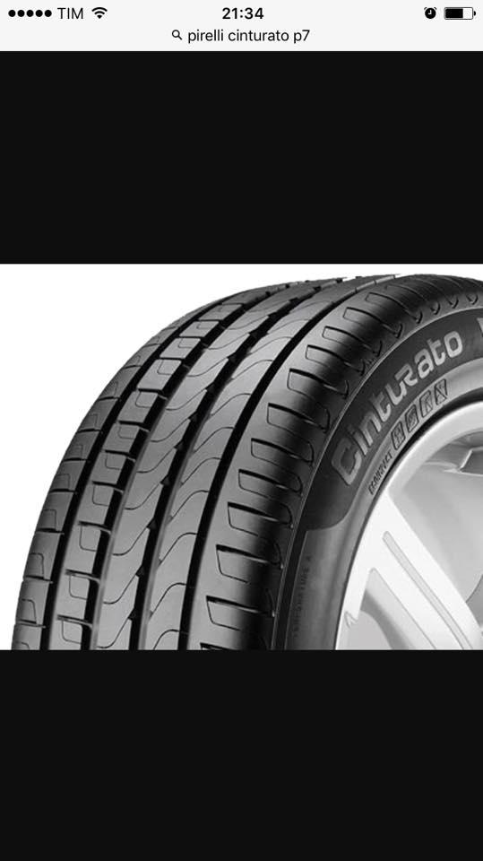 205/55r16 Pirelli cinturato p7 in promo a 300€ tutto incluso ( promo valida fino ad esaurimento scorte)
