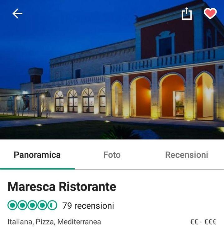 Registrati a Maresca risto & pizza metti mi piace alla pagina per essere aggiornato sulle nostre iniziative ma dopo invia una recensione su TripAdvisor, alla 85esima recensione offriremo una degustazione per 2 persone....