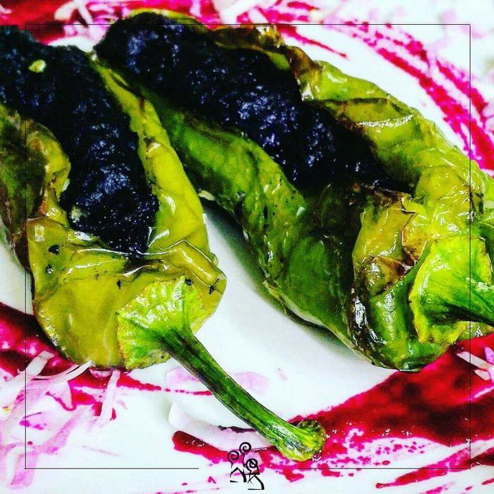 Peperoni 🌿 #locandadeicamino #botrugno #artgallery #chef #salento #restaurant