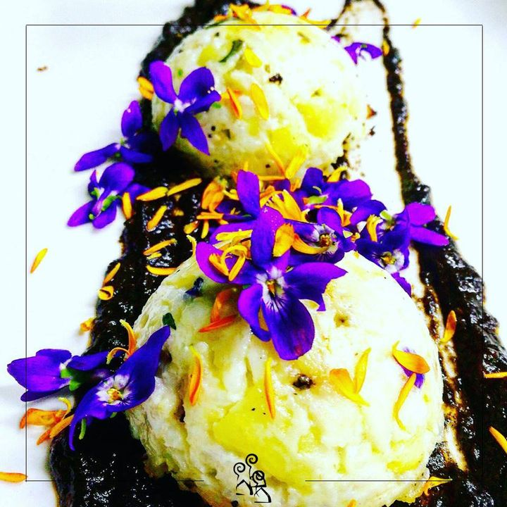 Ice-cream dessert #locanda #restaurant #botrugno #salento #fish #freshfish #artgallery #primo #camini