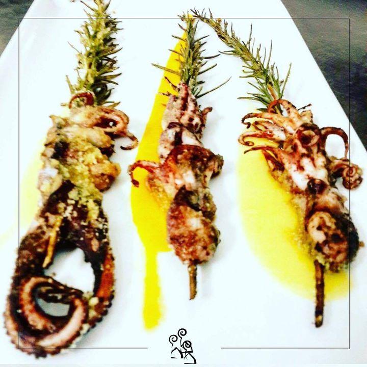 La cena è servita ;) #seafood #restaurant