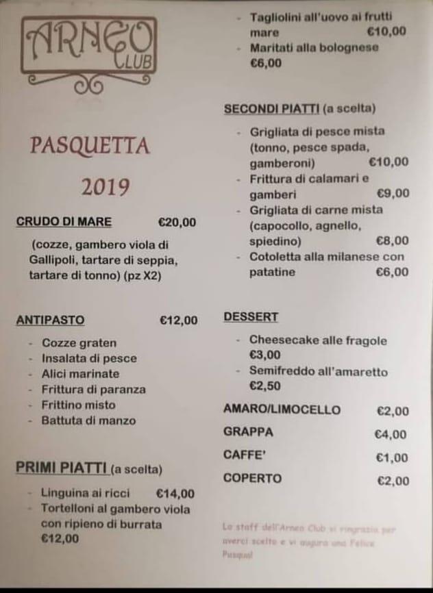 Ultimi posti per il pranzo di Pasquetta 🥂 Per info e/o prenotazioni 330857722