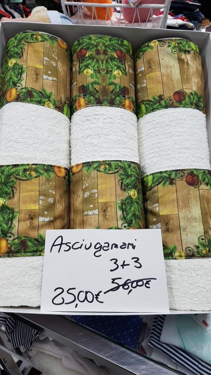 ULTIMI ASCIUGAMANI  DA 56€ SCONTATI A 25€