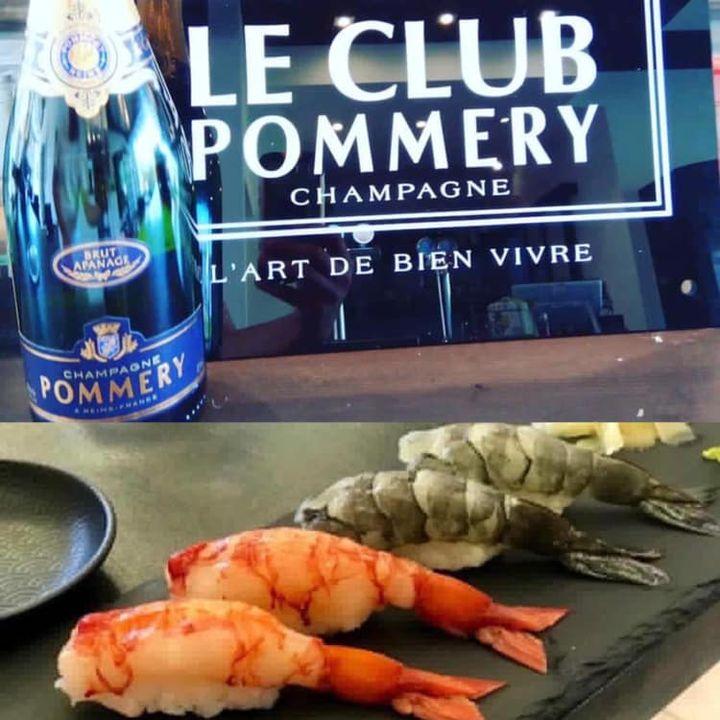 La nostra filosofia: Qualità, freschezza e perfezione.  Champagne Pommery 🥂🍾 , nigiri 🍣 di gambero rosso di Mazzara del Vallo e nigiri di gambero blu della Nuova Caledonia.  Vi aspettiamo!  🦐 🍤 🍣 🇯🇵 🍥🍢🍶
