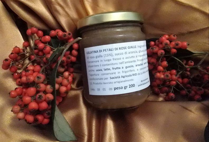 La nostra nuova, originalissima, gelatina alle rose agrumate!