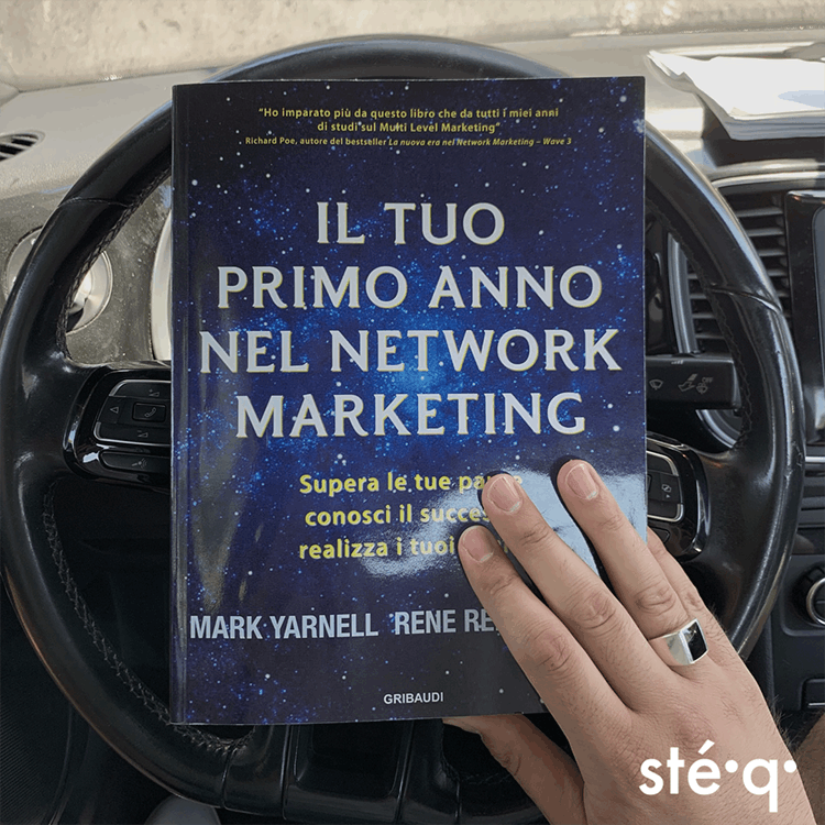 IL TUO PRIMO ANNO NEL NETWORK MARKETING - LIBRO DI RENE REID YARNELL E MARK YARNELL