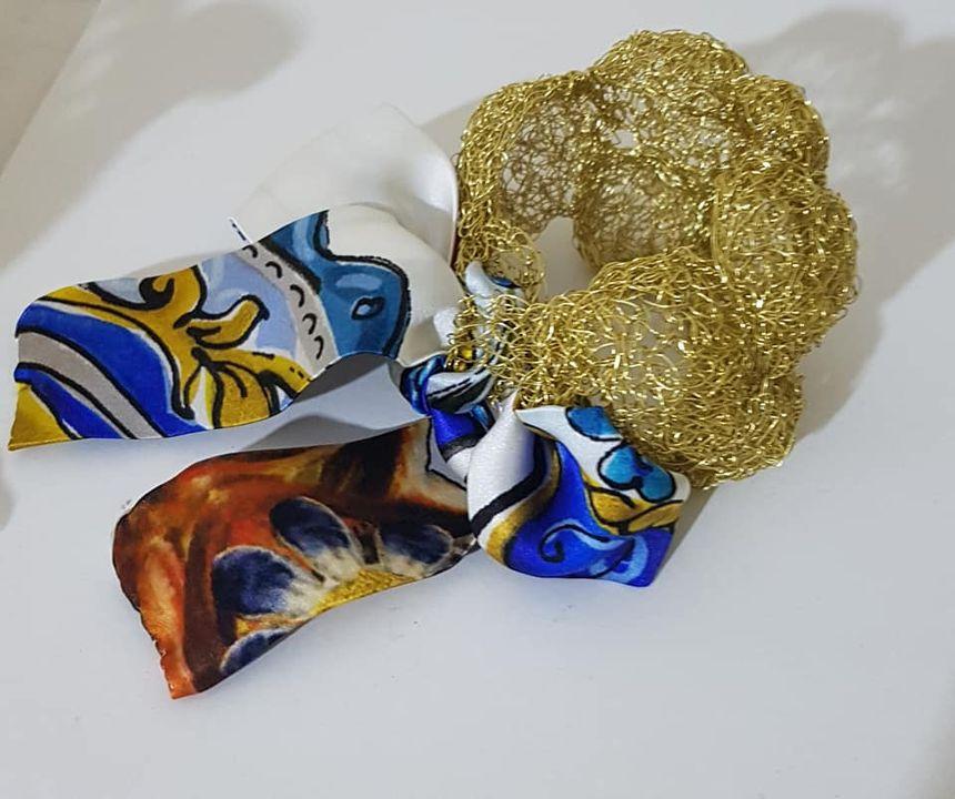 bracciale in filo metallico