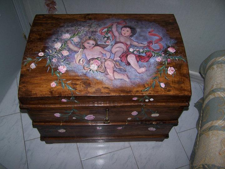 mobili decorati