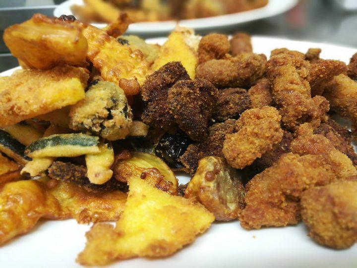 Oggi fritto misto alla piemontese......