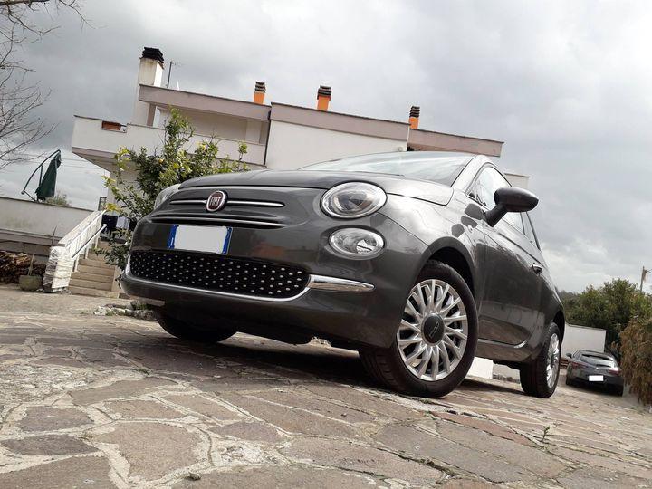 Fiat 500. Iconica citycar 1.2 69CV, Lounge con cambio automatico!