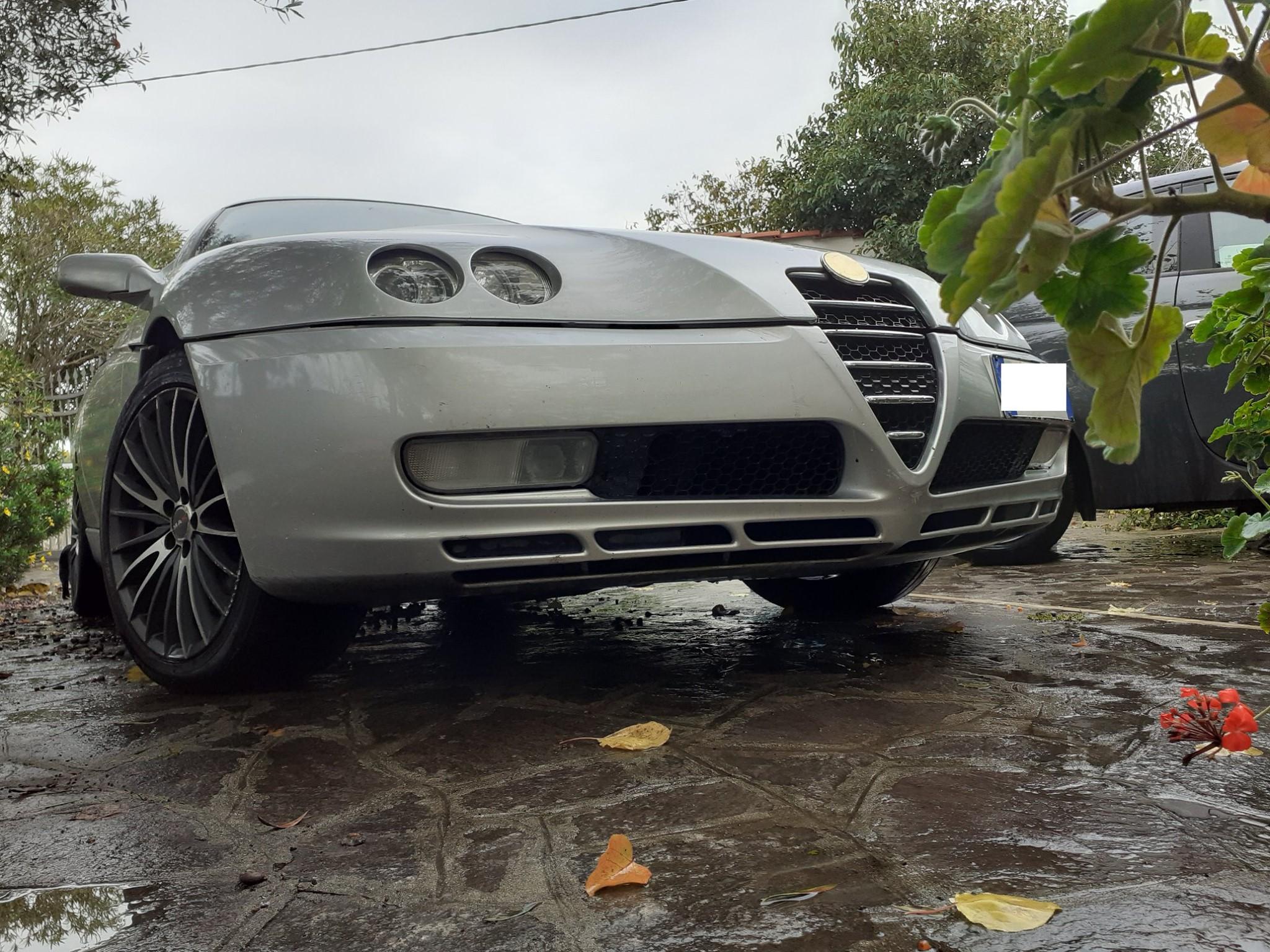 Alfa Romeo GTV 2.0 JTS, 31 dicembre 2005, una delle ultime prodotte.