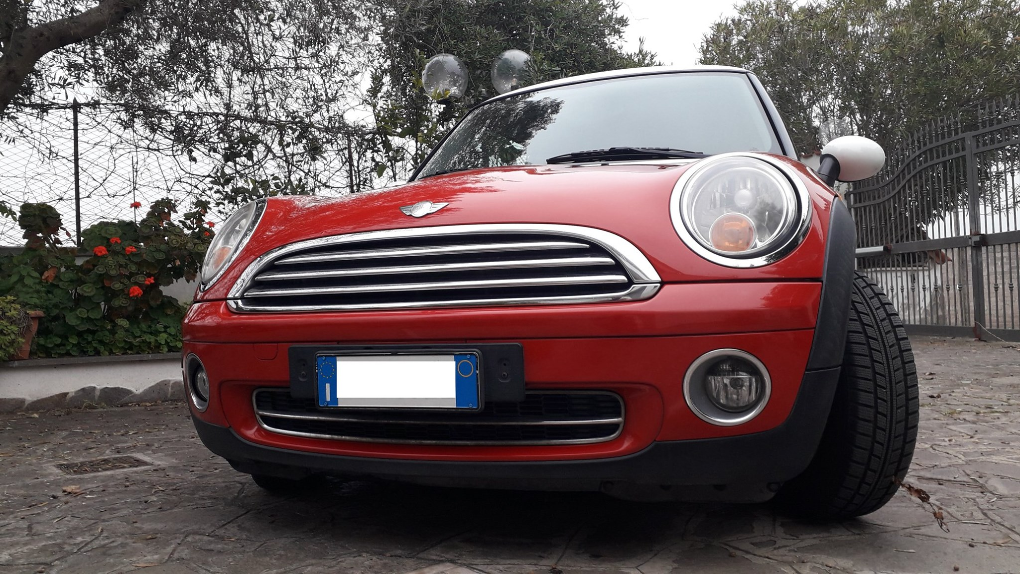 MINI 1.6 16V Cooper Salt con book service Ufficiale BMW/MINI