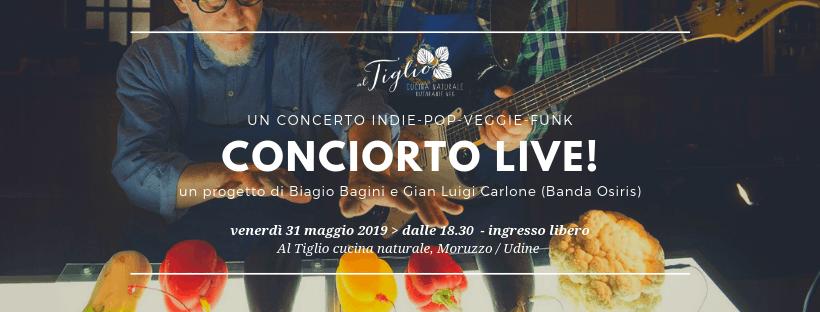 CONCIORTO LIVE! Un concerto indie-pop-veggie-funk / Al Tiglio di Moruzzo