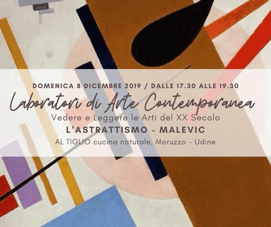 LABORATORI DI ARTE CONTEMPORANEA - Vedere e Leggere le Arti del XX Secolo