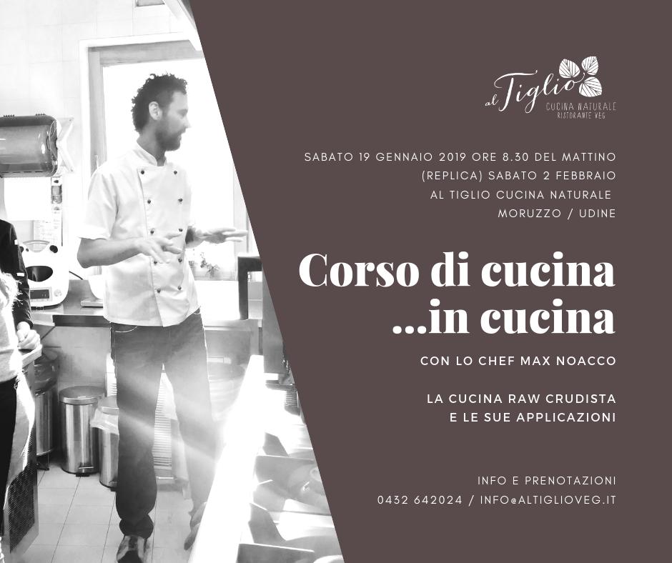 CORSO DI CUCINA …in Cucina! 👨🍳 con lo chef Max Noacco