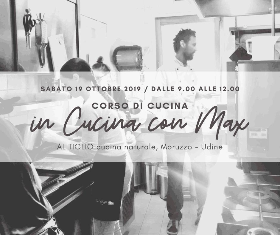 CORSO DI CUCINA… IN CUCINA / con lo chef Max Noacco