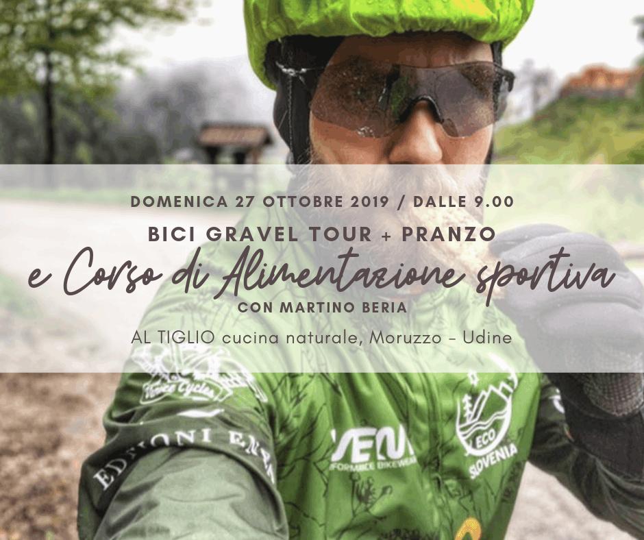 Corso di Alimentazione sportiva + Bici Gravel tour in Friuli