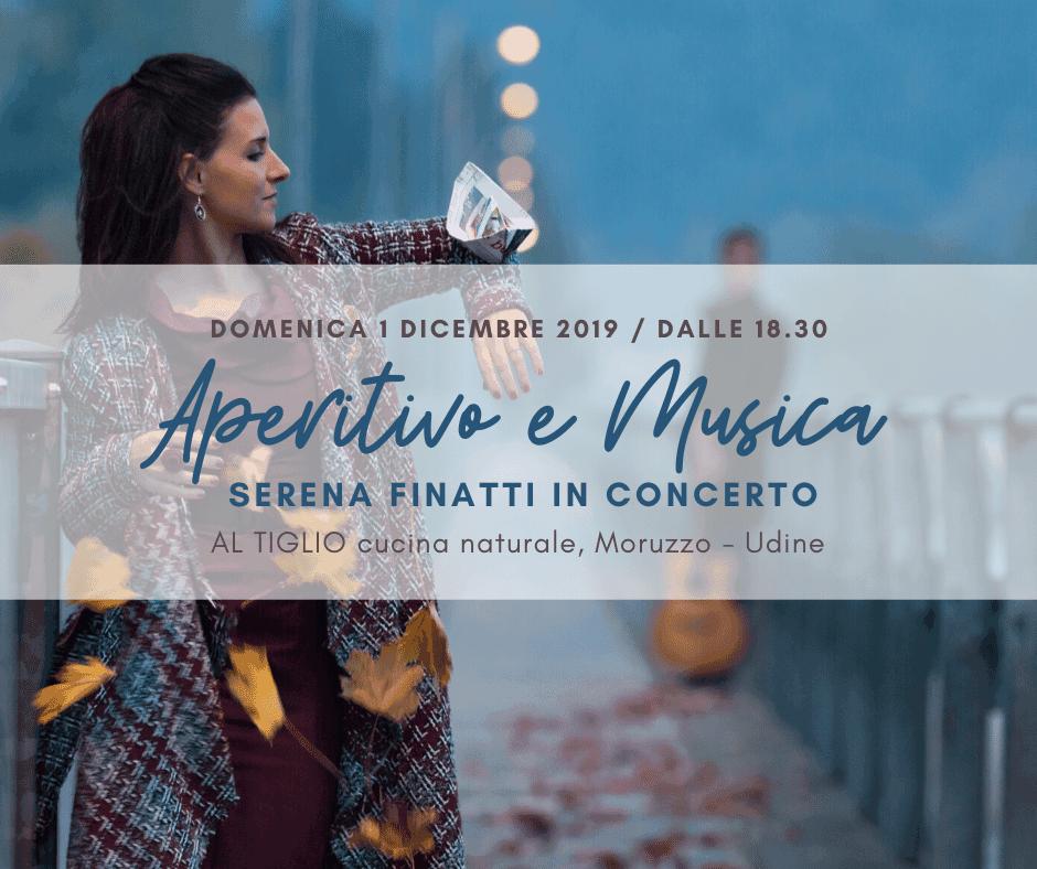 Aperitivo e Musica. Una serata con la cantautrice friulana SERENA FINATTI