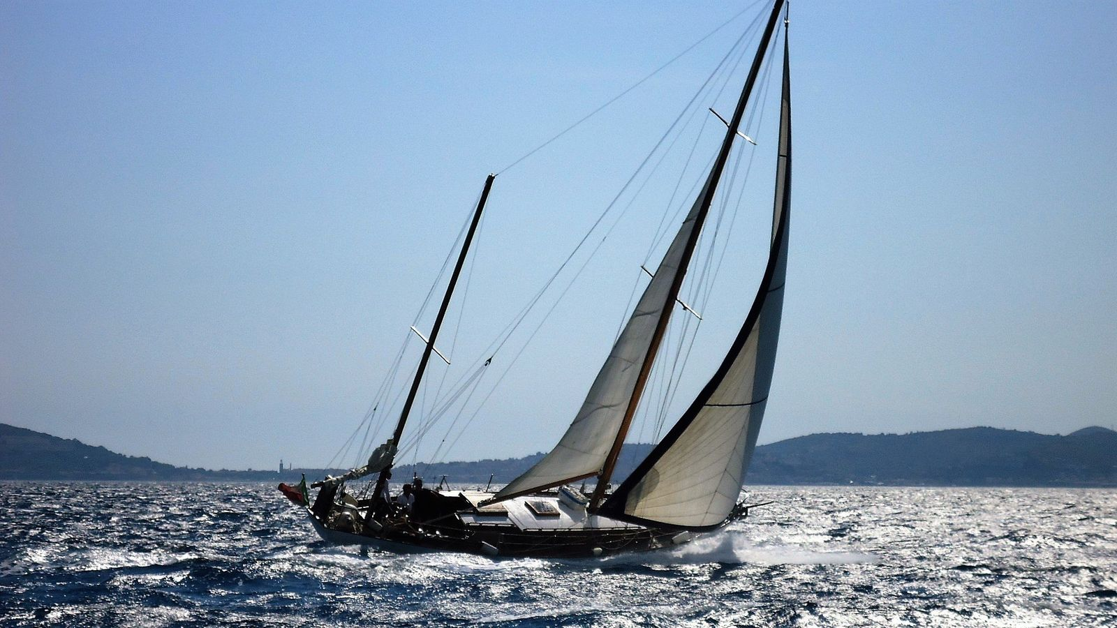 Regata di vele d'epoca a Gaeta
