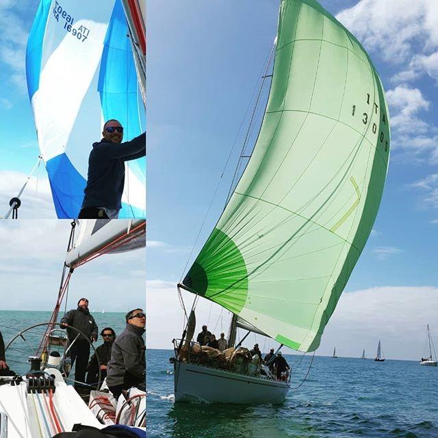 19 maggio 2019 esclusione in barca a vela a Ostia